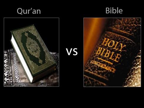 Memperbandingkan ayat-ayat di Alkitab dengan di Kuran